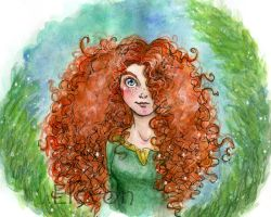 Brave - Merida by IreneMartini