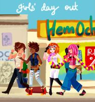 dance central: girls' day out by moondazzle