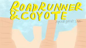 Thumbnail/titlecard for Roadrunner c speed drawing by IDROIDMONKEY