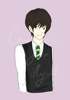 Commission: Albus Severus for illyad by Heurim