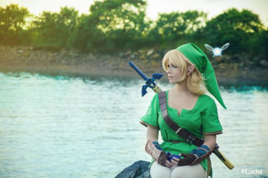 TLOZ Ocarina of time - Link (Female Ver.) 4 by luchia-28