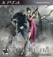 RE4 on PS4 by Taitiii