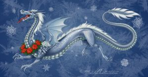 Snow Dragon by M-Skirvin