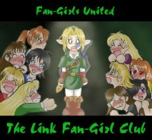 Link Fan-Girl Club ID by HyruleMaster