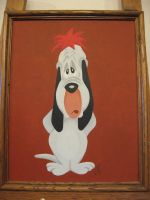 Droopy painting by zombiegoon
