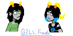 Gill Fronds (For My Moirail: fandomstuckHeroine) by BeastBoysgirlRiley