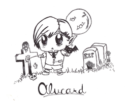 Little Alucard - BW by Moroboshist