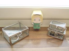 APH papercraft: Belgium by Demmi-chan