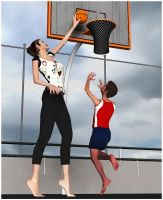 BasketBall Girls 3 by suneeeel