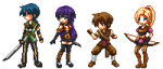 Game Character Sprites by lyxven