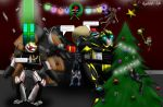 Playstation and Transformers Christmas Celebration by Playstation-Jedi