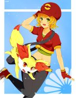 I choose Fennekin! by sasuki-chan