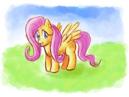 ATG II Day 1 - Idle Fluttershy by Gachucho