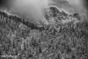 Clouds Around the Peak BW by mjohanson