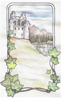 'Ancient Castle by a Lake' by Alice-chan