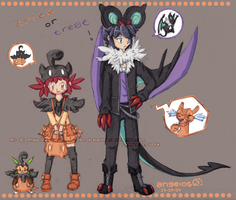 -Alan+Manon- Trick or Treat! by Ange-ll-os