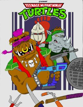 Goontra: Featuring Bebop and Rocksteady by oldmanwinters