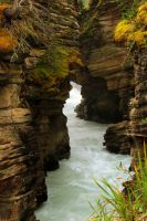 Athabasca Falls #3 by KRHPhotography