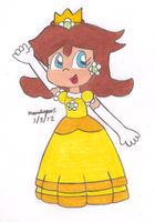 Princess Daisy by MarioSimpson1