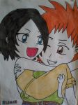 Ichiruki Chibi by I-Love-Claymore