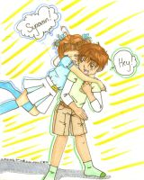 Sakura x Syaoran AGAIN XD by Kyo-is-my-LoVeR01