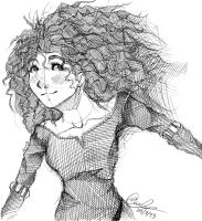 Merida Sketch by Pinchii