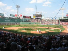 behind home plate by Peter-Pine