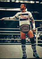 Cm punk - Poster 2 by findmyart