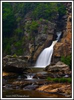 Lower Linville Falls June 2006 by TRBPhotographyLLC