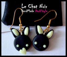 Dark Bunnies by LeChatNoirHandMade