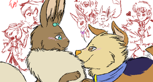 Iscribble.... again :D by The-Chibster