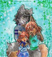 The Family by SunetteTheWolf
