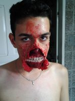 Ripped mouth (with teeths). by fontenelefx