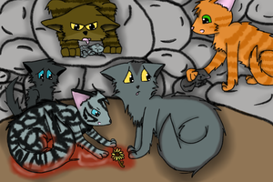 Silverstream and Graystripe's Family by catz537