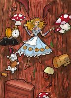 Alice In Steam Punk Land by ShadowMaginis