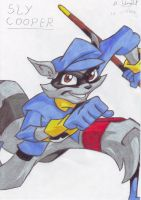 SLY COOPER by slycrazy