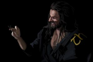 Thorin Sketch by xAtrax