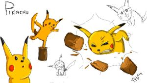 Pikachu! The sequel by Apples-Malus