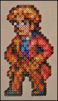 The Sixth Doctor (Colin Baker) by Jelizaveta