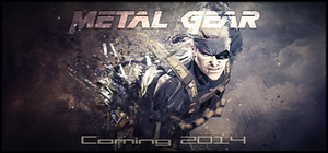 Metal Gear Movie Signature by ChaserTech