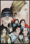 The Princess Bride - Portrait Print by MarkItZeroNET