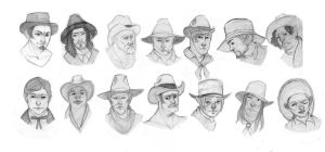 Western Men by AmourFonce