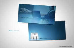 Medra. Business Card by Dalash