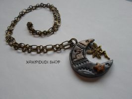 Collar Steampunk IV by Xaxipidudi