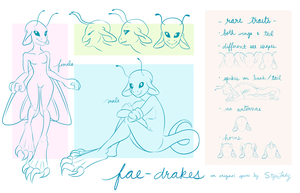 [OS] Fae-Drakes - Basic Species Info by StyxLady