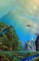 Underwater Village by mushroomGOD121