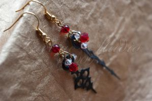 Throughout Time Earrings 04 by taeliac
