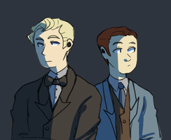 suit and tie by AeroEiko