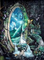 Portal to fairyland by WormholePaintings