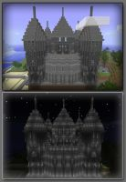 My Minecraft Castle by jelmobu